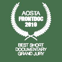 Premio Giuria Internazionale al miglior cortometraggio 2019